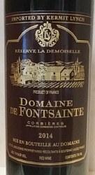 DOM FONTSAINTE CORB 750ML