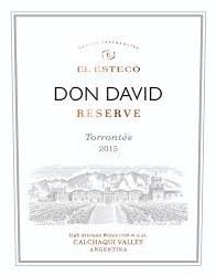 DON DAVID TORRONTES RSV 750ML