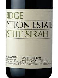 RIDGE PS LYTTON ESTATE 750ML