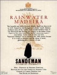SANDEMAN RAINWATER 750ML