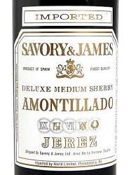 SAVORY&JAMES AMONTILLADO 750ML