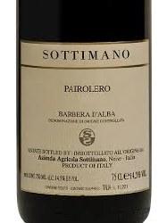 SOTTIMANO BD'A PAIROLERO 750ML
