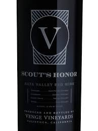VENGE SCOUT'S HONOR 750ML