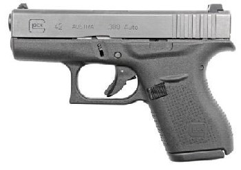 Glock G42 380 ACP 6+1 Rounds