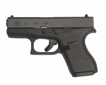Glock 43 Gen4 9mm (2) 6-rd