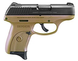 Ruger LC9S in FDE (1) 7-rd mag