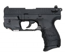 Walther P22 with Laser