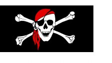 Bumper Sticker, Jolly Roger