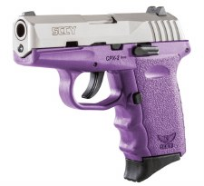 SCCY CPX2, Purpl/Stainless 9mm