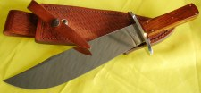 Case Alamo Bowie Knife &Sheath