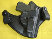 Hanks IWB Holster P3AT Black