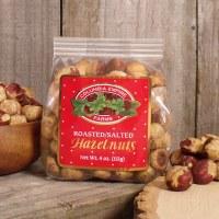 Roasted & Salted Hazelnuts 4oz