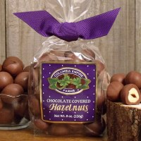 Chocolate Covered Hazelnuts 8oz