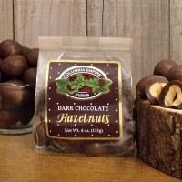 Dark Chocolate Hazelnuts 4oz