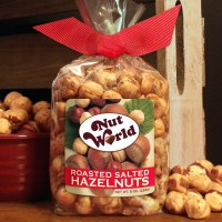 Nostalgic Nut World Roasted Salted Hazelnuts 8oz