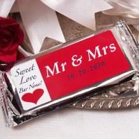 Mr & Mrs  Candy Bar 2oz
