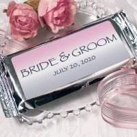 Bride & Groom  Candy Bar 2oz