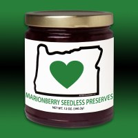 Heart In Oregon Marionberry Preserves 12oz