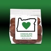 Heart In Oregon Chocolate Hazelnuts 4oz