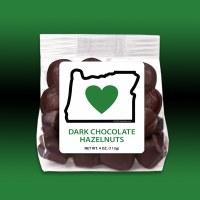 Heart In Oregon Dark Chocolate Hazelnuts 4oz