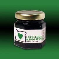 Heart In Oregon Huckleberry Blend Preserves 2oz