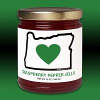 Heart In Oregon Raspberry Pepper Jelly 12oz