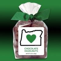 Heart In Oregon Choclate Hazelnuts 8oz