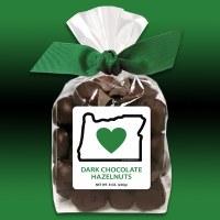 Heart In Oreogn Dark Chocolate Hazelnuts 8oz