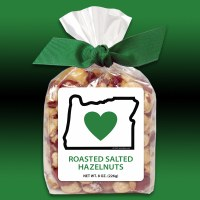 Heart In Oregon Roasted Salted Hazelnuts 8oz