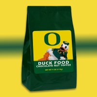 Duck Food Chocolate Nut Toffee 4oz