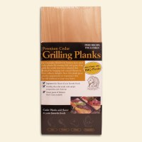 Cedar BBQ Planks Pack of 6