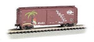 N Gauge AAR 40' Steel Boxcar Missouri Pacific #Herb-1 - 17060