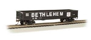 HO Gauge 40' Gondola Bethlehem Steel - 17205