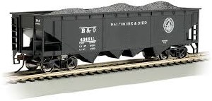 HO Gauge 40' Quad Hopper Baltimore & Ohio #434811 - 17606
