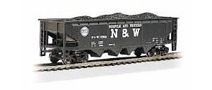 HO Gauge 40' Quad Hopper Norfolk & Western #12986 - 17607