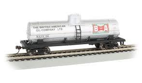 HO Gauge 40' Single-Dome Tank Car British-American Oil - 17812