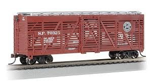 HO Gauge 40' Stock Car Southern Pacific #70325 - 18503