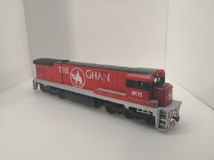 HO Scale GE C30-7 'The Ghan' - 3175-NR75
