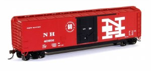HO Gauge New Haven 50' Plug-Door Boxcar - 18031