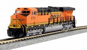 N Gauge GE ES44AC BSNF #5873 DCC Ready - 1768930