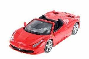 1:24 Scale Ferrari 458 Spider - 26017