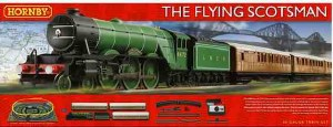 OO Gauge The Flying Scotsman Train Set - R1167