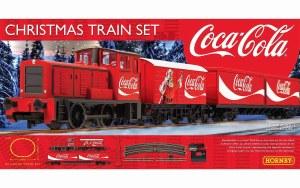 OO Gauge The Coca-Cola Christmas Train Set - R1233