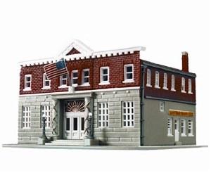 N Scale 5th Precinct Police Station Kit - 7481