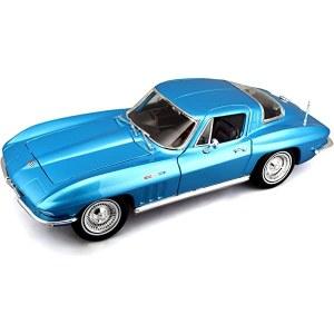 1:18 Scale 1965 Chevrolet Corvette Blue - 31640BLU