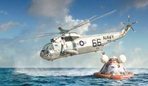 1:72 Scale SH-3D Sea King Apollo Recovery - 1433