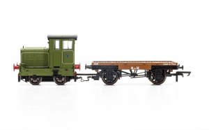 OO Gauge Ruston & Hornsby Ltd, R&H 48DS, 0-4-0, No. 269595 Era 4 DCC Ready - R3704