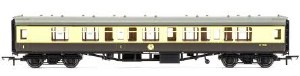 OO Gauge BR Mk1 CK Composite Corridor W15061 Chocolate & Cream - R4709