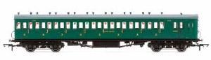 OO Gauge SR, 58' Maunsell Rebuilt (Ex-LSWR 48'), Nine Compartment Third Class Coach, 320 Era 3 - R4795