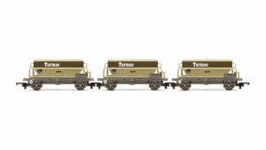OO Gauge PGA Hopper Wagons, Three Pack, Tarmac Era 8 - R6829